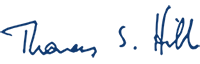 Thomas S. Hibbs Signature