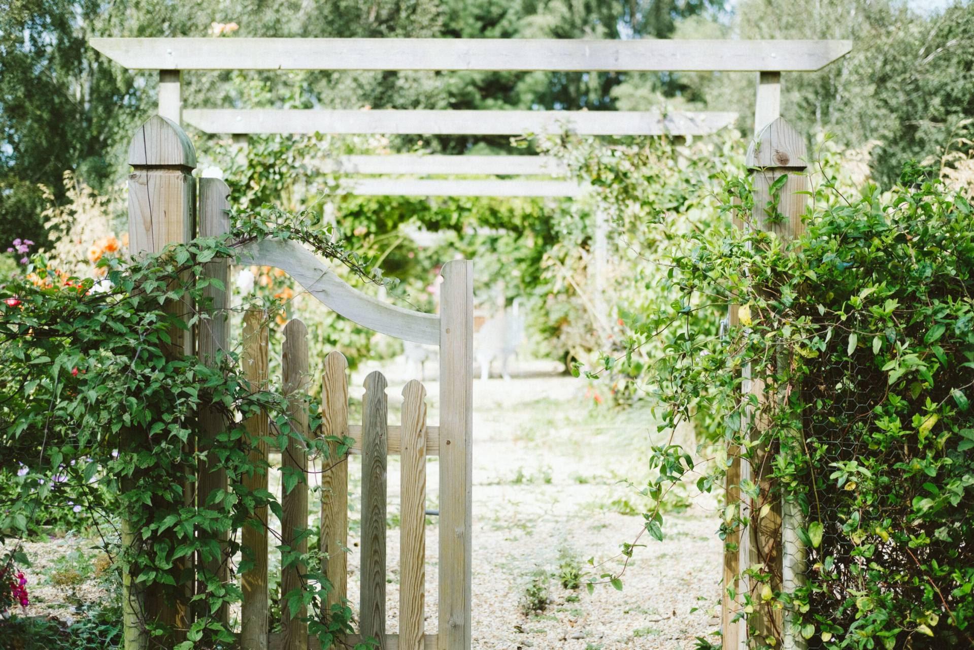 Trädgården Höjer Livskänslan Och Förlänger Livet
