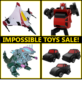IMPOSSIBLE TOYS RESTOCK SALE