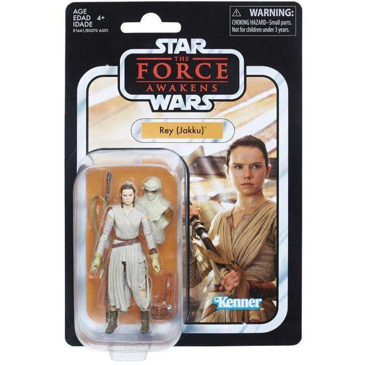 "Image of Star Wars: The Vintage Collection 3.75"" Wave 1 - Rey (Jakku) Action Figure"
