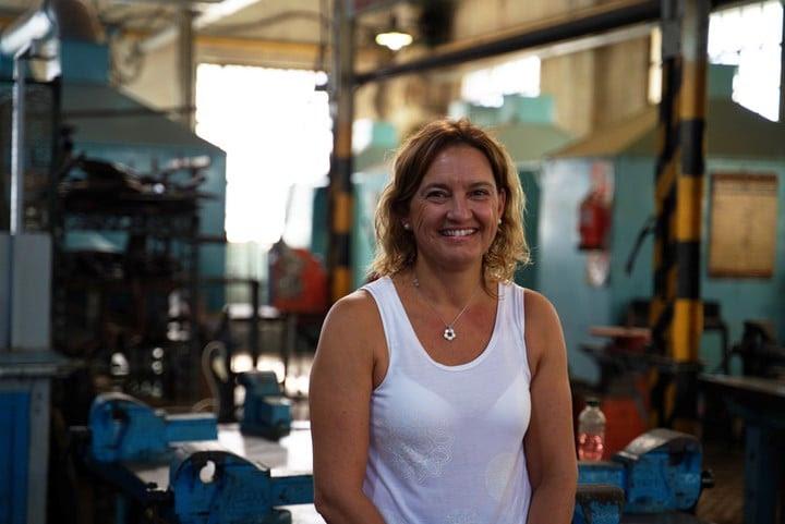 Mariela Guadagnoli, profesora de una escuela técnica de Gálvez, Santa Fe.
