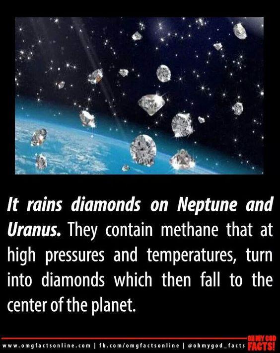 Its raining diamonds