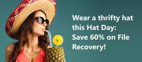 Happy Hat Day: Enjoy 60% Off Auslogics File Recovery