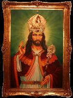 Znalezione obrazy dla zapytania obraz jezusa krola