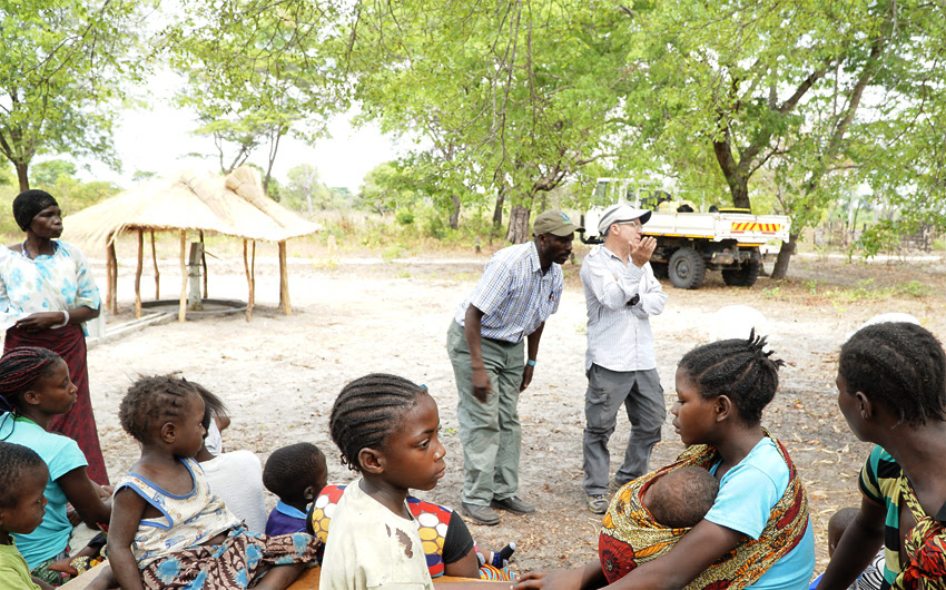 Zambia, Steve Evers, Johan Leach
