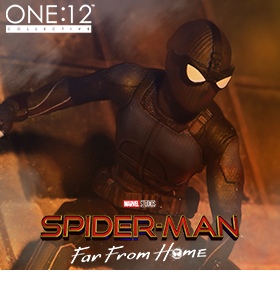 Spider-Man: Far From Home One:12 Collective Spider-Man (Stealth Suit) PX Previews Exclusive