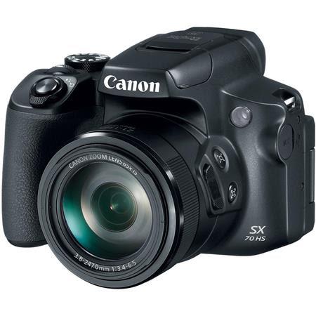 PowerShot SX70 HS Digital Point & Shoot Camera, Black