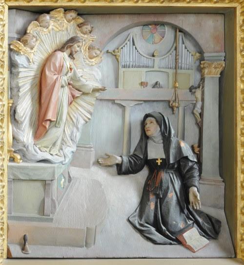 margarita maria con sagrado corazon