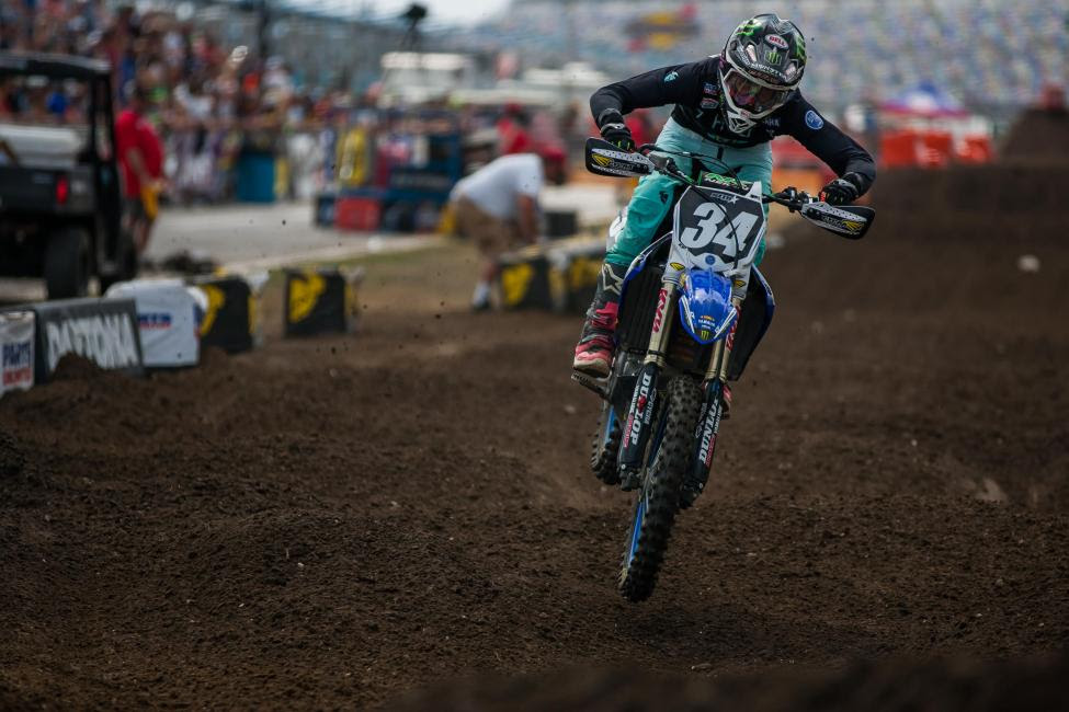 Jarrett Frye took home three overall wins today in the Schoolboy 2, 450 B and 250 B classes.