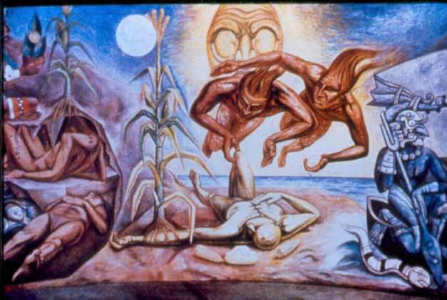 creacion del hombre maya raul anguiano - Hunab Ku, ¿el Dios de los Mayas?