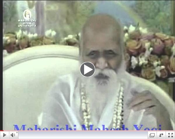 Boredom is against life - Maharishi Mahesh Yogi