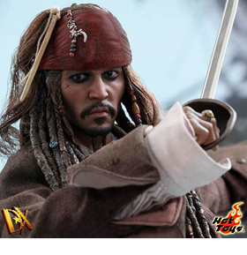 JACK SPARROW 1/6 SCALE DX COLLECTIBLE FIGURE