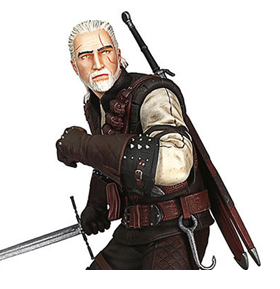 The Witcher 3: Wild Hunt Geralt (Manticore Armor) Figure
