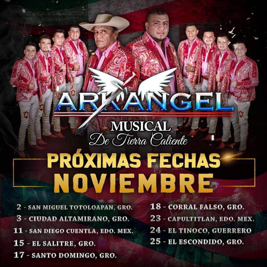 Arkangel Musical proximas fechas