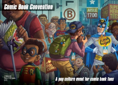 DC Spyfall Promo - Comic Book Convention