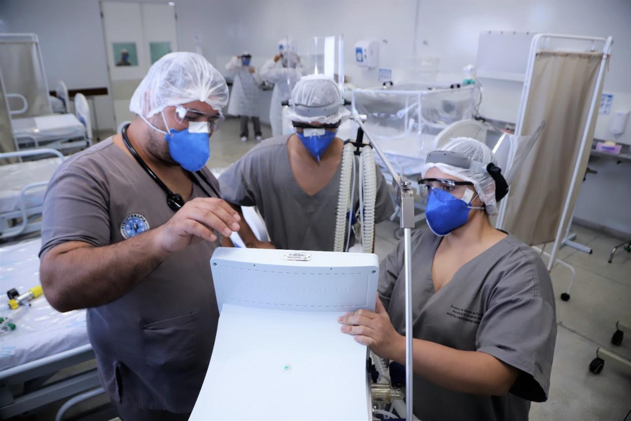 62f2c32b-0acb-4af4-918c-76461a7316ac Hospital Municipal de Campanha de Araguaína recebe10 novos leitos de UTI/Covid-19