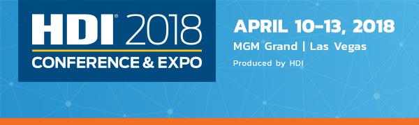HDI Conference 2018 | April 10-13, 2018