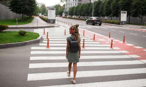 girl going back to school