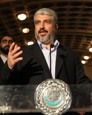 Jaled Mashal, el responsable político de Hamás, en una fotografía de mayo de 2011.