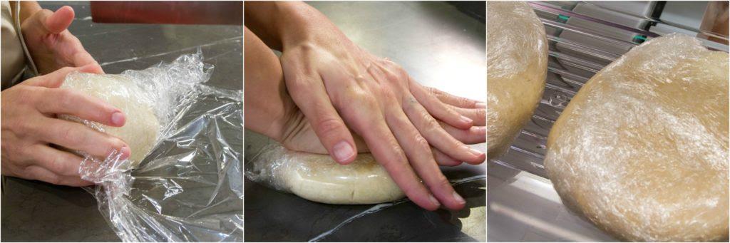 Pumpkin Pie Pie dough chill