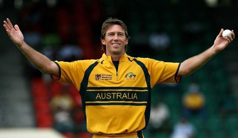 Glenn McGrath was a part of 1999,2003 and 2007 ICC World Cup editions.