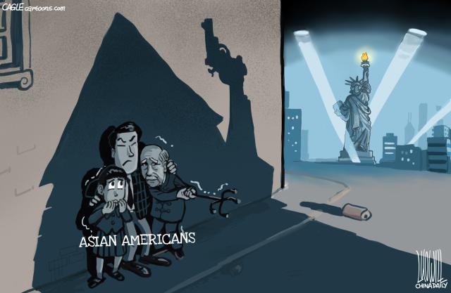 SHADOW, RACIAL DISCRIMINATION, ASIAN AMERICANS