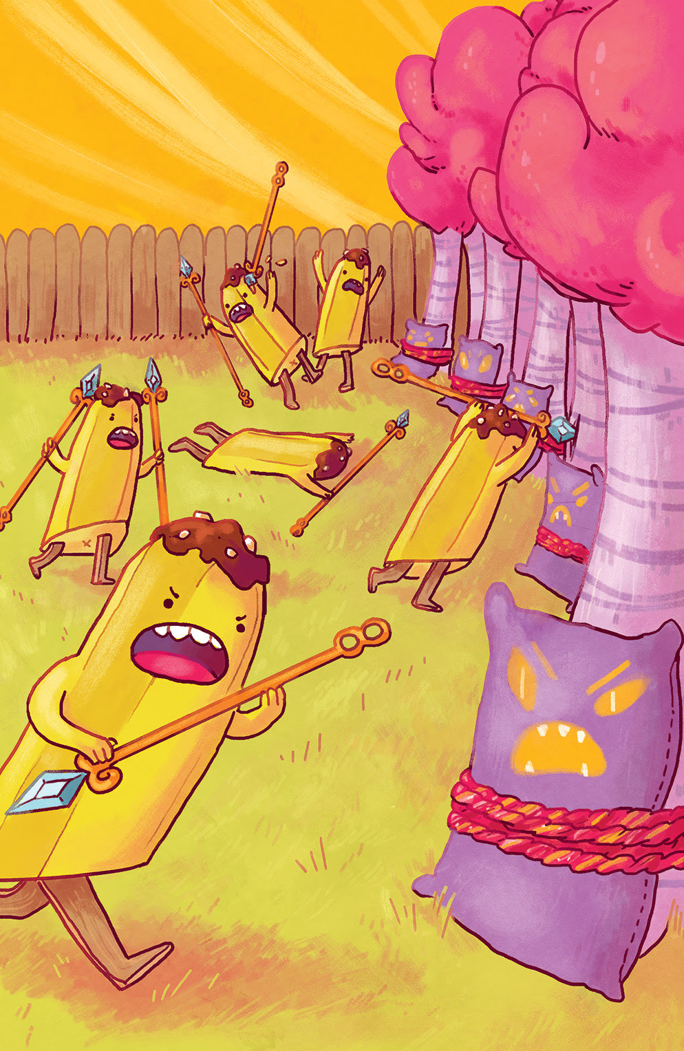 ADVENTURE TIME: BANANA GUARD ACADEMY #2 Cover B by Kelsey Sunday