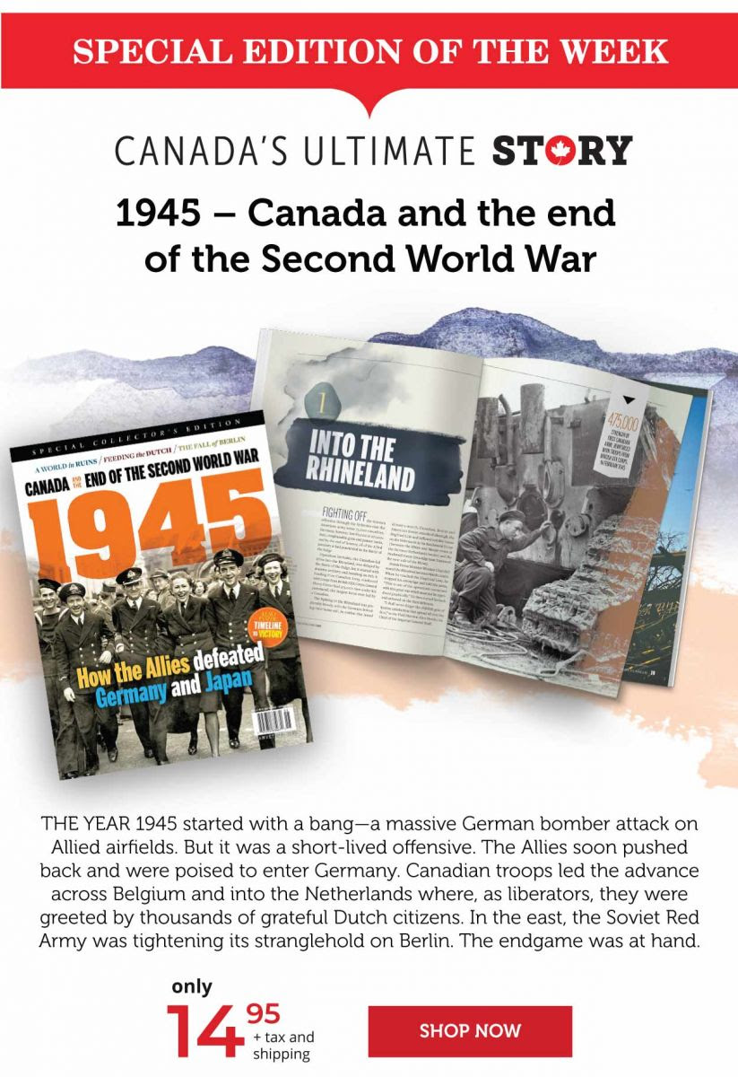 1945 - Canada and the end of the Second World War