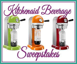 KitchenAid Sparkling Beverage.