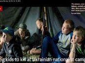 """En los denominados """"campamentos patrióticos"""" se organizan actividades políticas y entrenamiento militar permanente y agresivo."""