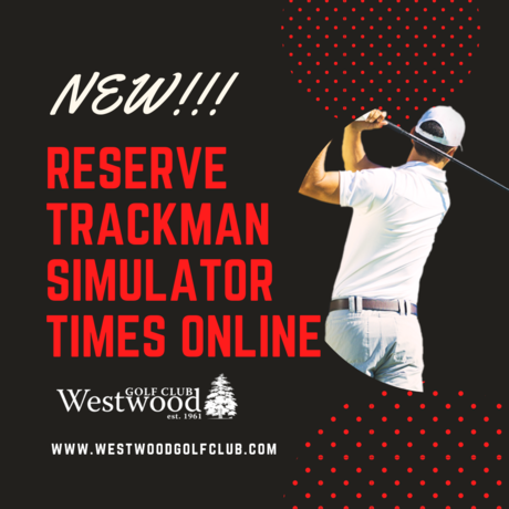 reserve times on our state of the art trackman simulator