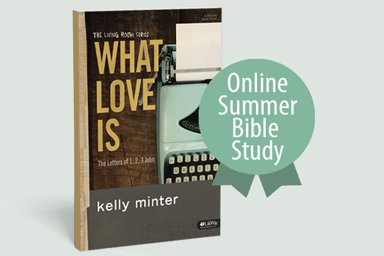 what love is online bible study header image