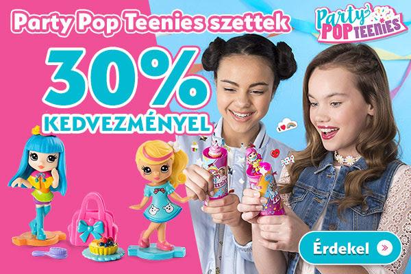 Party Pop Teenies szettek Akciós áron!