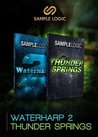 Waterharp 2 & Thunder Springs by Sample Logic