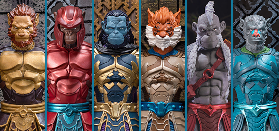 Animal Warriors of the Kingdom Primal Series
