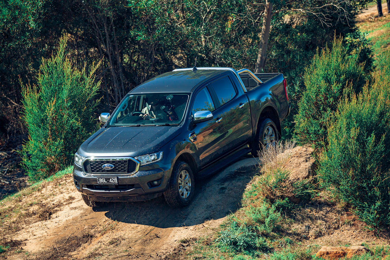 4 X 4 Australia Comparisons 2021 May 21 Ford Ranger XLT Ground Clearance