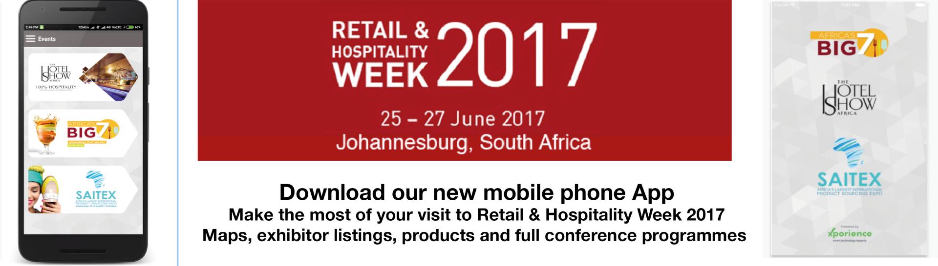Retail & Hospitality Week SHow app