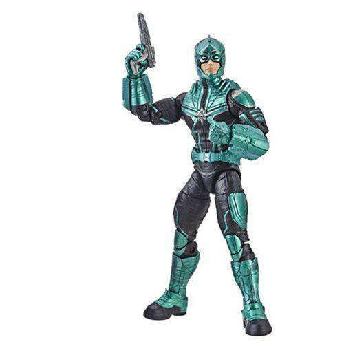 Image of Marvel (Kree Sentry BAF) Marvel Legends Wave 1 - Starforce Commander (Captain Marvel) - JANUARY 2019