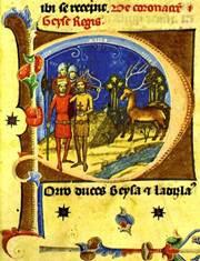 Géza és László herceg látomása