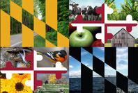 Maryland Flag w/ images