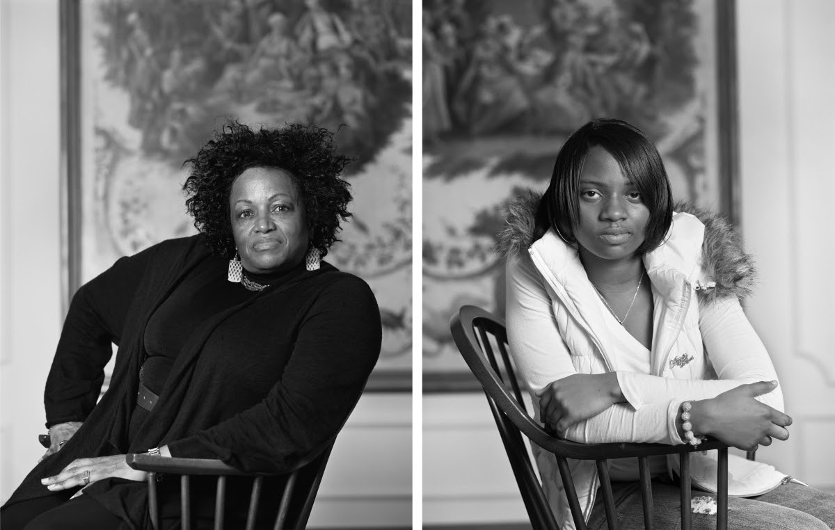 Dawoud Bey, Maxine Adams and Amelia Maxwell, Birmingham, AL, from The Birmingham Project, 2012