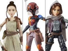 STAR WARS ADVENTURE FIGURES