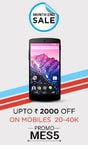 Month end sale  :  Upto 2000 off on Mobile and Tablet