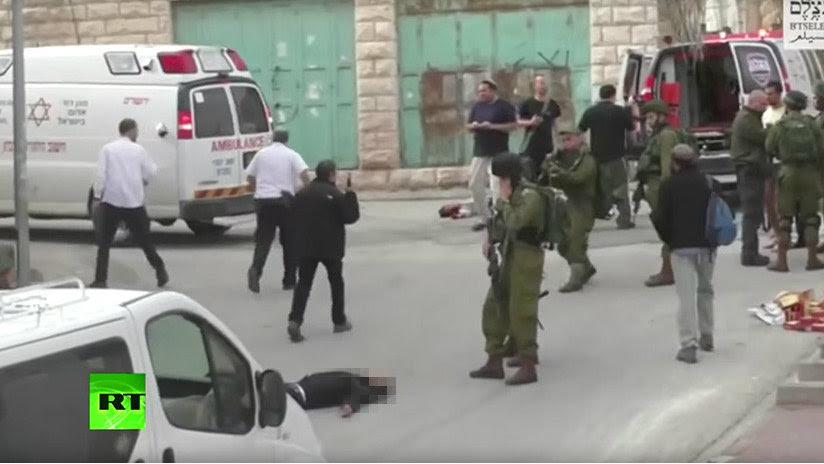 Ejército Israeli paga 6.900 dólares al soldado que remató a un palestino herido