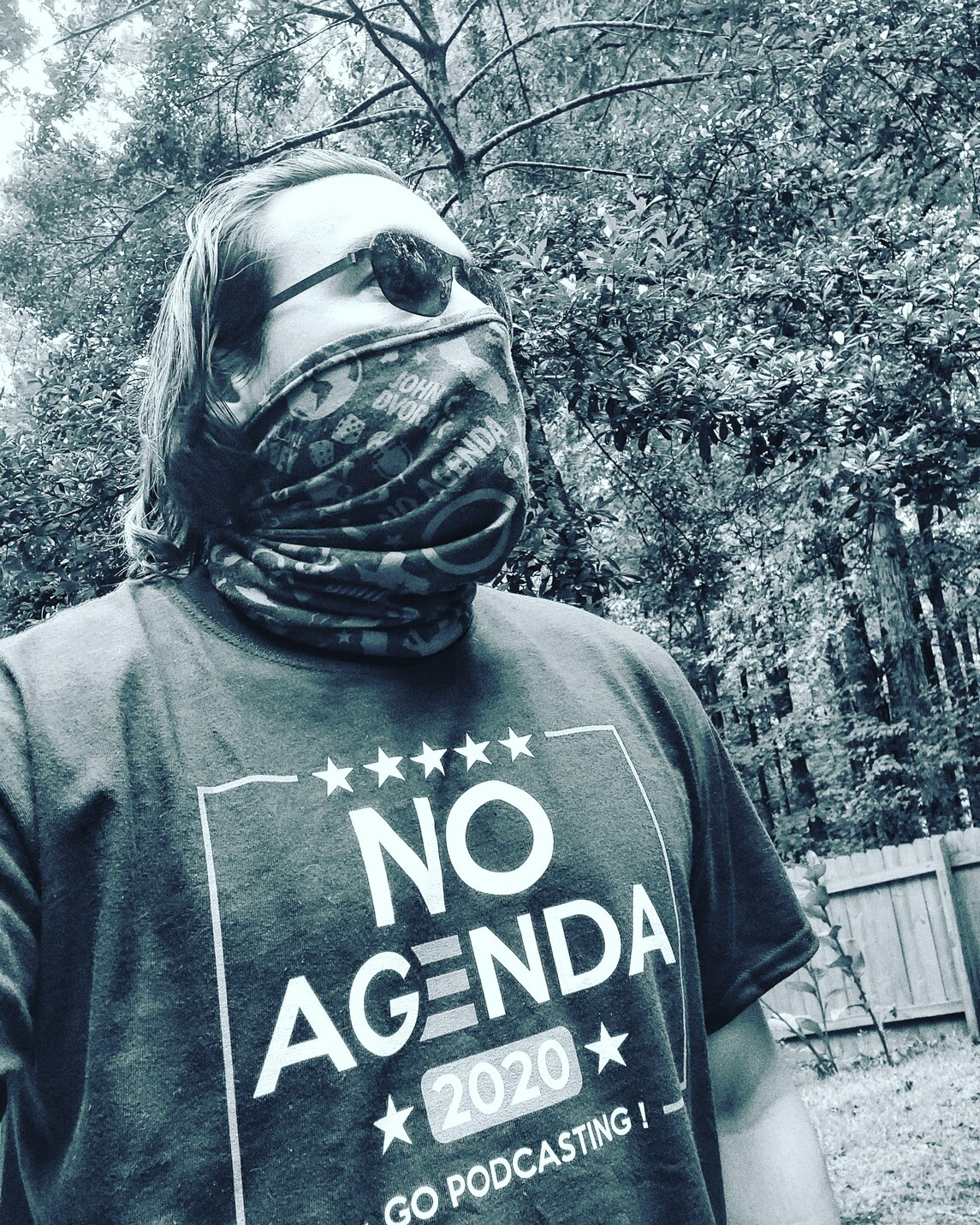 No Agenda garb