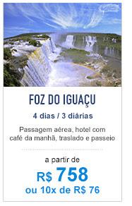 Pacote para Foz do Iguaçu