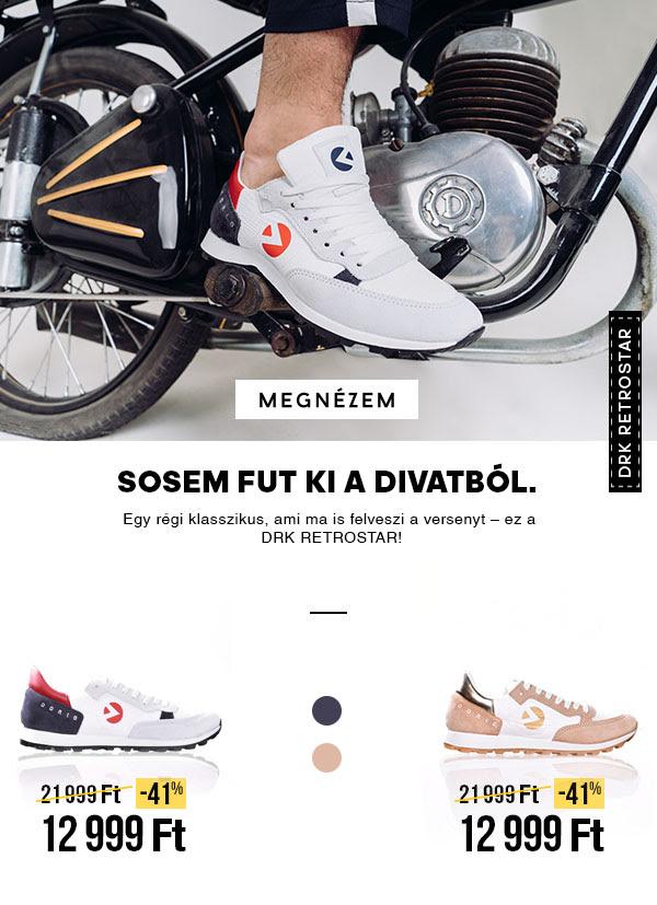 DRK sneaker leárazás - RETROSTAR