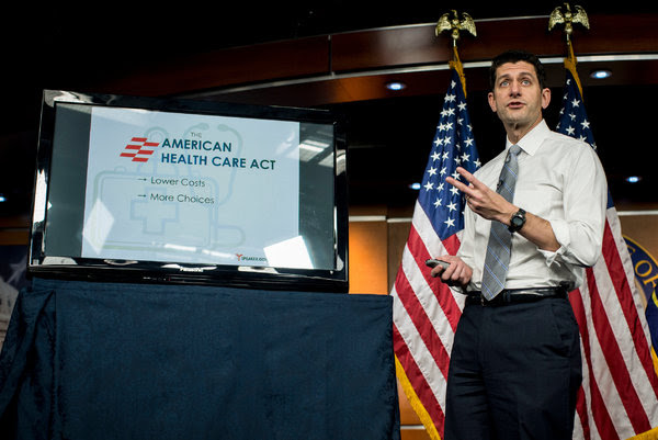 Speaker Paul D. Ryan at a news conference on the American Health Care Act last week. He has said that increased choice and competition will lead to lower prices.