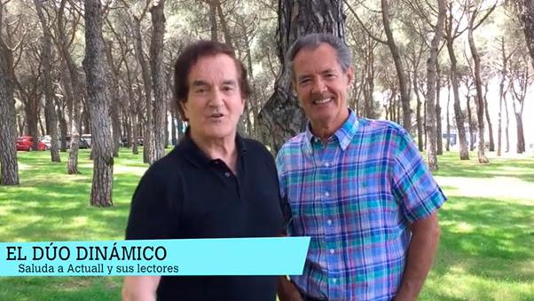 Haz  clic para ver entrevista con el Dúo Dinámico