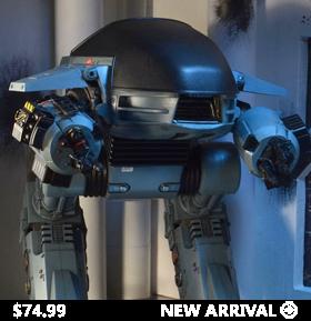 "ROBOCOP ED-209 10"" FIGURE WITH SOUND"
